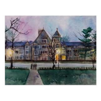 Avenida sul 2 da universidade cartão postal