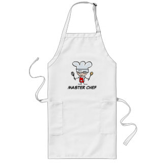 Aventais do cozinheiro chefe mestre