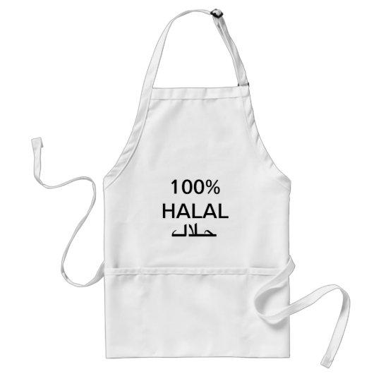 avental 100% halal