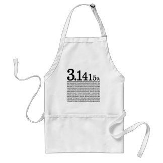 Avental 3,1415926 Pi