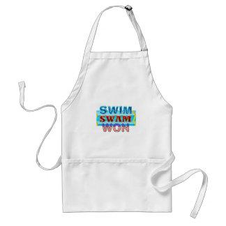 Avental A natação SUPERIOR nadou ganhado