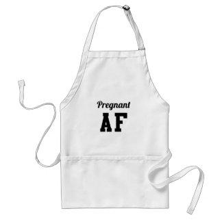 Avental AF grávido