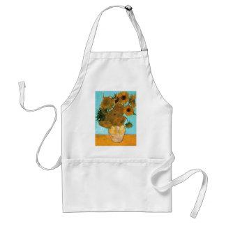 Avental Ainda vida: Girassóis - Vincent van Gogh