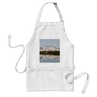 Avental Alaska: Reflexões do lago das montanhas