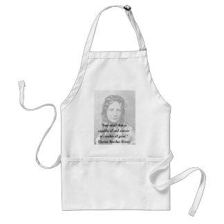 Avental Alguma mente - Harriet Beecher Stowe