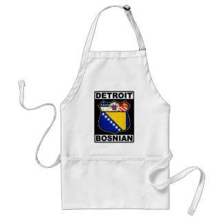 Avental americano bosniano de Detroit