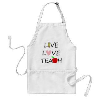 Avental amor vivo teach2