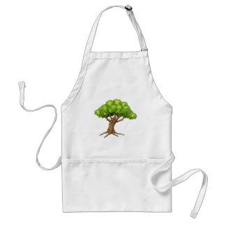 Avental Árvore dos desenhos animados