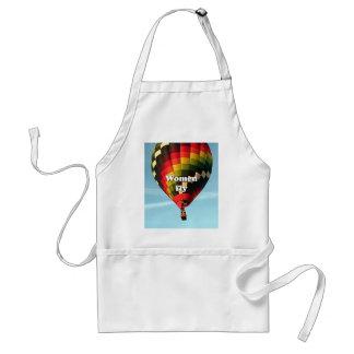 Avental As mulheres voam: balão de ar quente