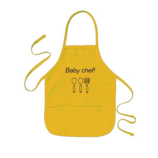 Avental Baby chef!