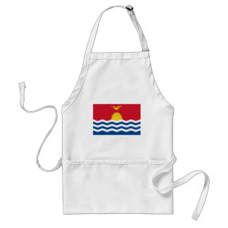 Avental Baixo custo! Bandeira de Kiribati