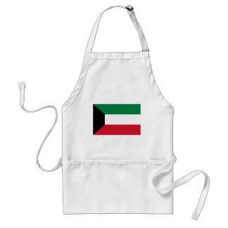 Avental Baixo custo! Bandeira de Kuwait