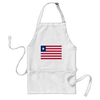 Avental Baixo custo! Bandeira de Liberia