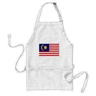 Avental Baixo custo! Bandeira de Malaysia