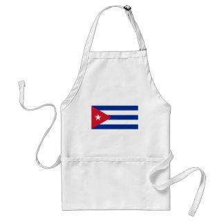 Avental Bandeira cubana - bandera Cubana - bandeira de