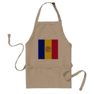 Avental Bandeira de Andorra