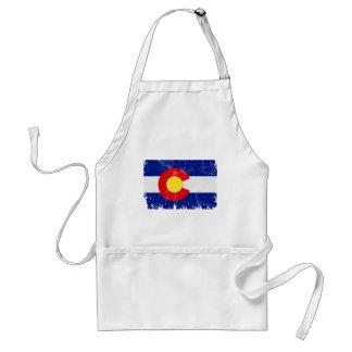 Avental Bandeira de Colorado afligida