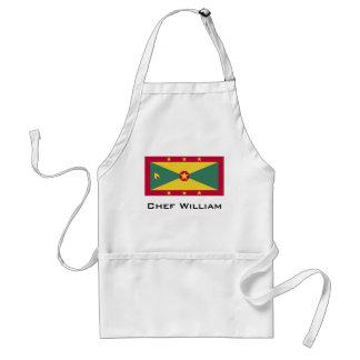 Avental Bandeira de Grenada