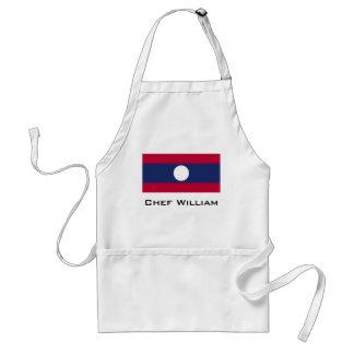 Avental Bandeira de Laos