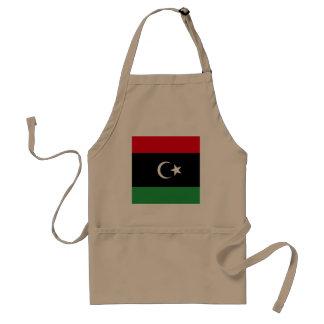 Avental Bandeira de Líbia