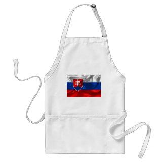 Avental Bandeira de Slovakia