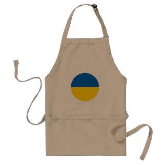Avental Bandeira de Ucrânia