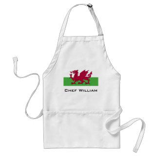 Avental Bandeira de Wales