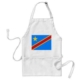 Avental Bandeira Democrática do mundo da República