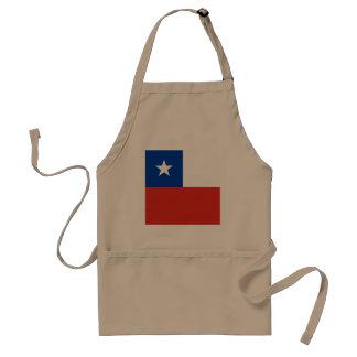 Avental Bandeira do Chile