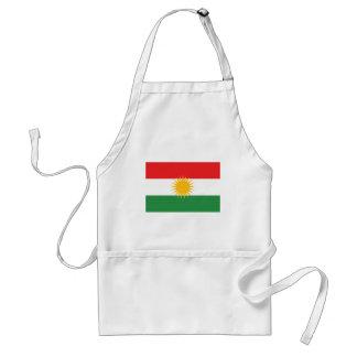 Avental Bandeira do Curdistão; Curdo; Curdo