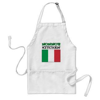 Avental Bandeira do italiano da cozinha de Nonno