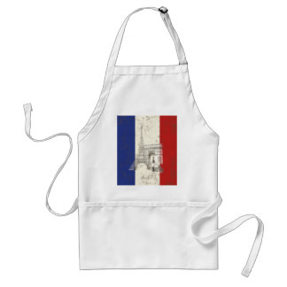 Avental Bandeira e símbolos de France ID156