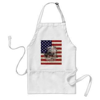 Avental Bandeira e símbolos dos Estados Unidos ID155