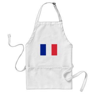 Avental Bandeira francesa patriótica