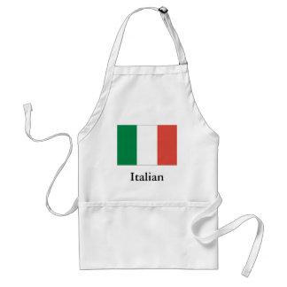Avental bandeira italiana