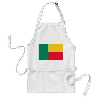 Avental Bandeira nacional do mundo de Benin