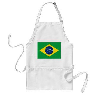 Avental Bandeira nacional do mundo de Brasil