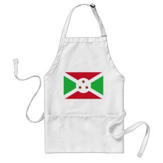 Avental Bandeira nacional do mundo de Burundi