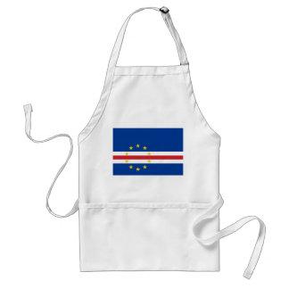 Avental Bandeira nacional do mundo de Cabo Verde