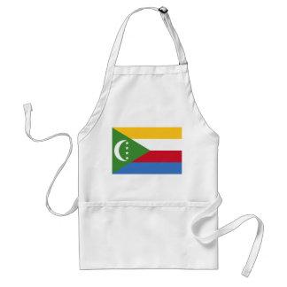 Avental Bandeira nacional do mundo de Cômoros