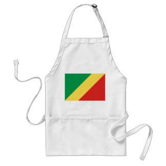 Avental Bandeira nacional do mundo de Congo