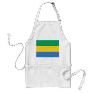 Avental Bandeira nacional do mundo de Gabon