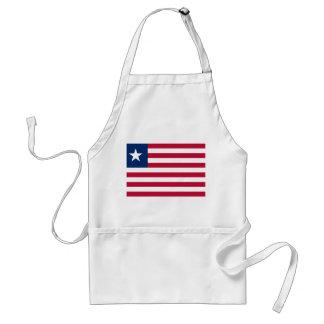 Avental Bandeira nacional do mundo de Liberia