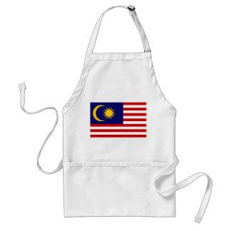 Avental Bandeira nacional do mundo de Malaysia