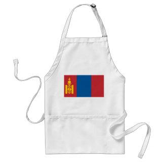 Avental Bandeira nacional do mundo de Mongolia