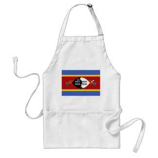 Avental Bandeira nacional do mundo de Suazilândia