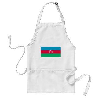 Avental Bandeira patriótica de Azerbaijan