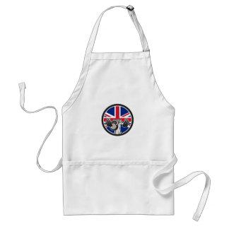 Avental Barbell britânico Kettlebell Union Jack Fl do