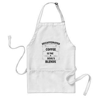Avental bebida engraçada do café