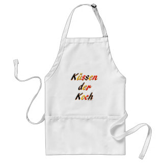 Avental Beije a caneca do cozinheiro